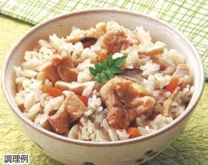 鱧乃醤レシピ写真(炊き込みご飯)
